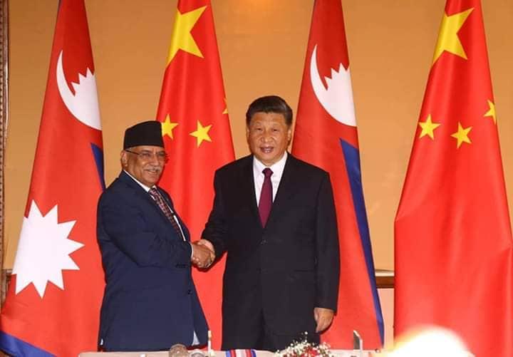 सीलाई प्रचण्डको ब्रिफिङ– मैले हस्ताक्षर गरेको बिआरआइले चीन–नेपाललाई साझेदार मुलुक बनाएकोमा खुशी छु